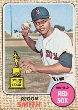 1968 Topps Reggie Smith #61 Baseball Card