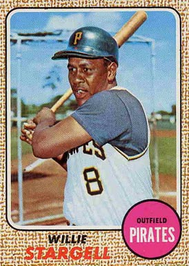 1968 Topps Willie Stargell #86 Baseball Card