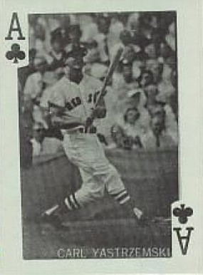 1969 Globe Imports Playing Cards Carl Yastrzemski #AC Baseball Card