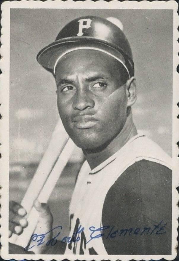 1969 Topps Deckle Edge #27 Roberto Clemente Bob Clemente PSA 4 Graded Baseball Card