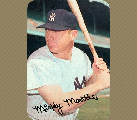 1969 Topps Super Mickey Mantle #24 Baseball Card