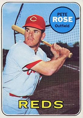 1969 Topps Pete Rose #120 Baseball Card