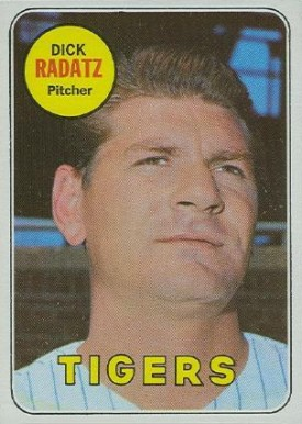 1969 Topps Dick Radatz #663 Baseball Card