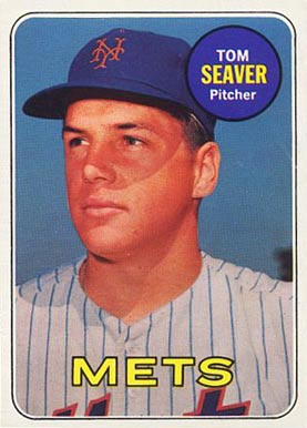 1969 Topps Tom Seaver #480 Baseball Card