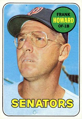 1969 Topps Frank Howard #170 Baseball Card