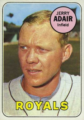 1969 Topps Jerry Adair #159 Baseball Card