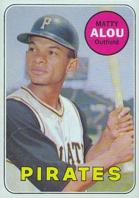 1969 Topps Matty Alou #490 Baseball Card
