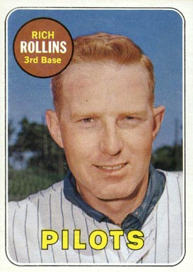 1969 Topps Rich Rollins #451-y Baseball Card