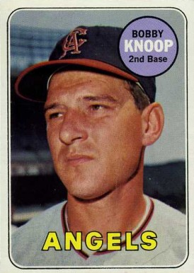 1969 Topps Bobby Knoop #445 Baseball Card
