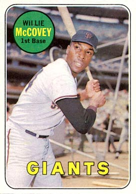 1969 Topps Willie McCovey #440-y Baseball Card