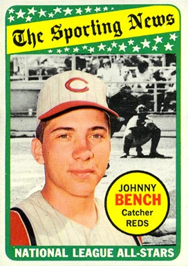 1969 Topps Johnny Bench #430 Baseball Card