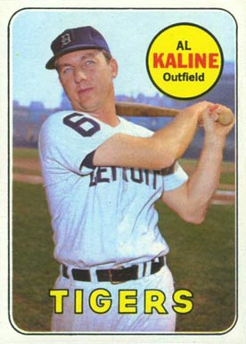 Al Kaline Hall Of Fame Baseball Cards