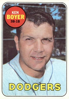 1969 Topps Ken Boyer #379 Baseball Card