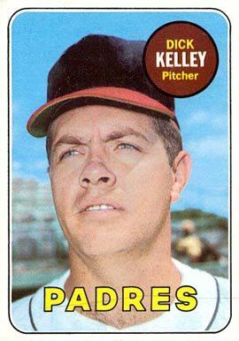 1969 Topps Dick Kelley #359 Baseball Card