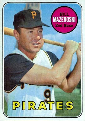 1969 Topps Bill Mazeroski #335 Baseball Card
