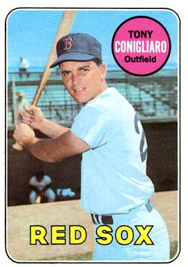 1969 Topps Tony Conigliaro #330 Baseball Card