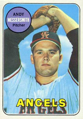 1969 Topps Andy Messersmith #296 Baseball Card