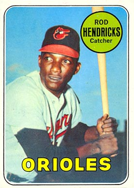 1969 Topps Rod Hendricks #277 Baseball Card