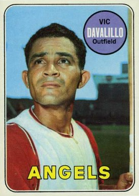 1969 Topps Vic Davalillo #275 Baseball Card
