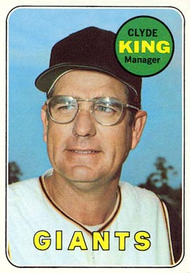 1969 Topps Clyde King #274 Baseball Card