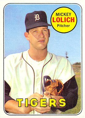 1969 Topps Mickey Lolich #270 Baseball Card