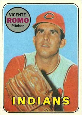 1969 Topps Vicente Romo #267 Baseball Card