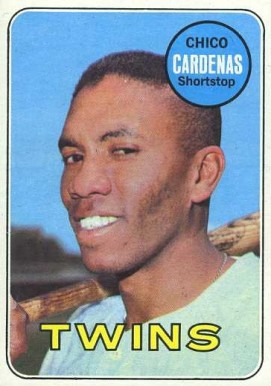 1969 Topps Chico Cardenas #265 Baseball Card