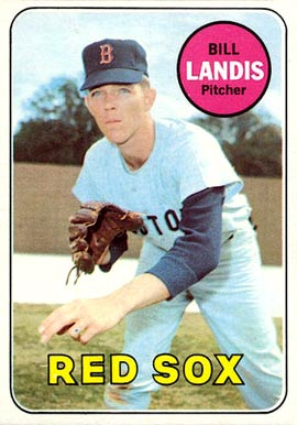 1969 Topps Bill Landis #264 Baseball Card