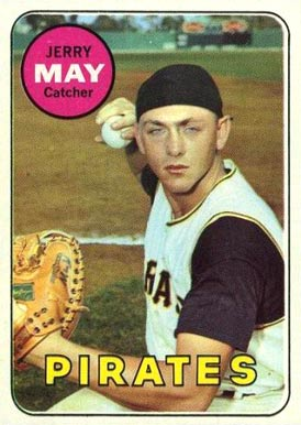 1969 Topps Jerry May #263 Baseball Card
