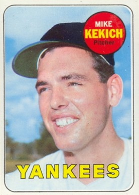 1969 Topps Mike Kekich #262 Baseball Card