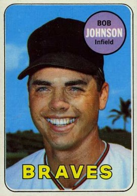 1969 Topps Bob Johnson #261 Baseball Card