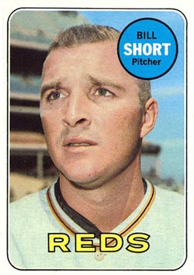 1969 Topps Bill Short #259 Baseball Card