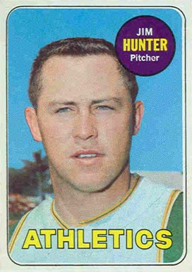 1969 Topps Jim Hunter #235 Baseball Card