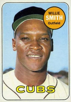 1969 Topps Willie Smith #198 Baseball Card