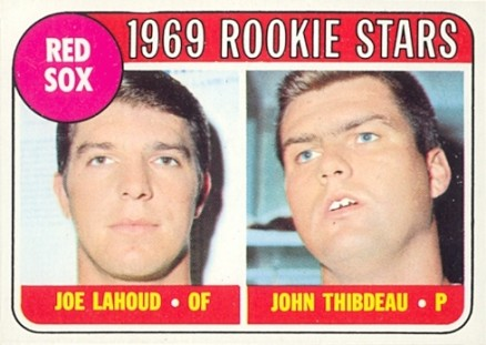 1969 Topps Joe Lahoud #189 Baseball Card