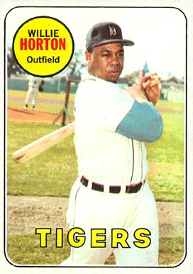 1969 Topps Willie Horton #180 Baseball Card