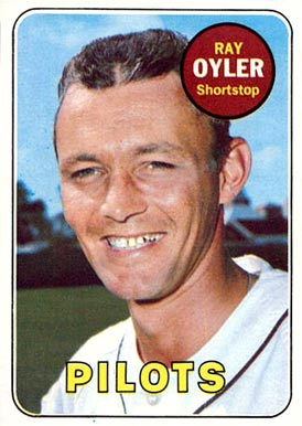 1969 Topps Ray Oyler #178 Baseball Card