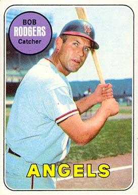 1969 Topps Bob Rodgers #157 Baseball Card