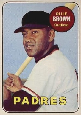 1969 Topps Ollie Brown #149 Baseball Card