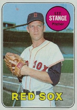 1969 Topps Lee Stange #148 Baseball Card