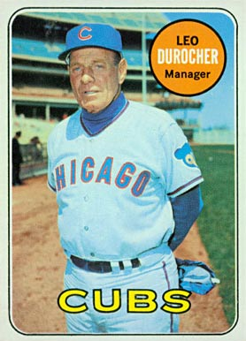 1969 Topps Leo Durocher #147 Baseball Card
