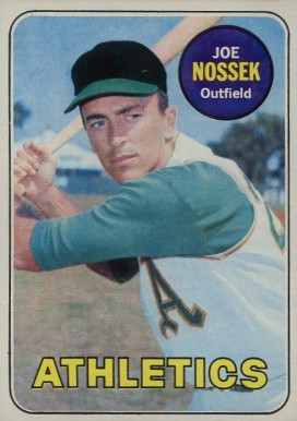 1969 Topps Joe Nossek #143 Baseball Card