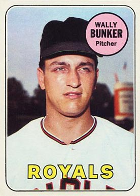 1969 Topps Wally Bunker #137 Baseball Card