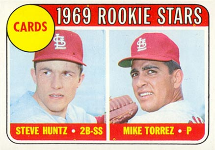 1969 Topps Steve Huntz #136 Baseball Card