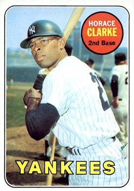 1969 Topps Horace Clarke #87 Baseball Card