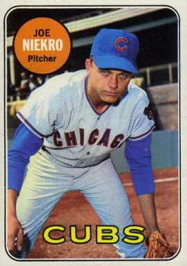 1969 Topps Joe Niekro #43 Baseball Card