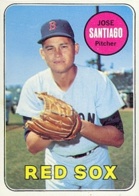 1969 Topps Jose Santiago #21 Baseball Card