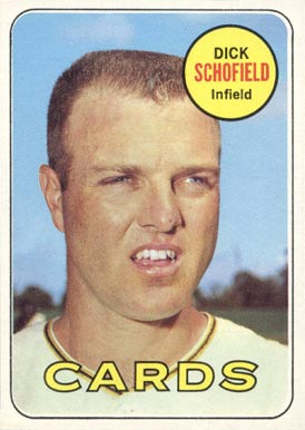1969 Topps Dick Schofield #18 Baseball Card