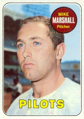 1969 Topps Mike Marshall #17 Baseball Card