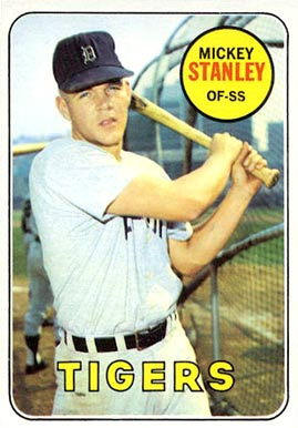1969 Topps Mickey Stanley #13 Baseball Card